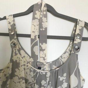 Aritzia - Wilfred Silk Dress floral pattern